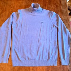 Lilly Pulitzer Large Blue Turtleneck Sweater
